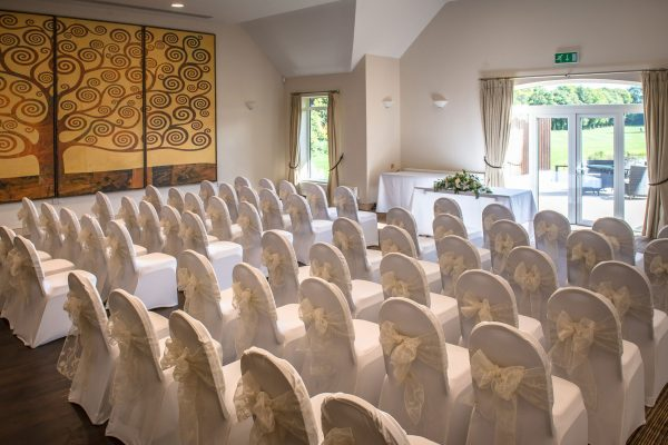 Aldwickbury Park wedding room