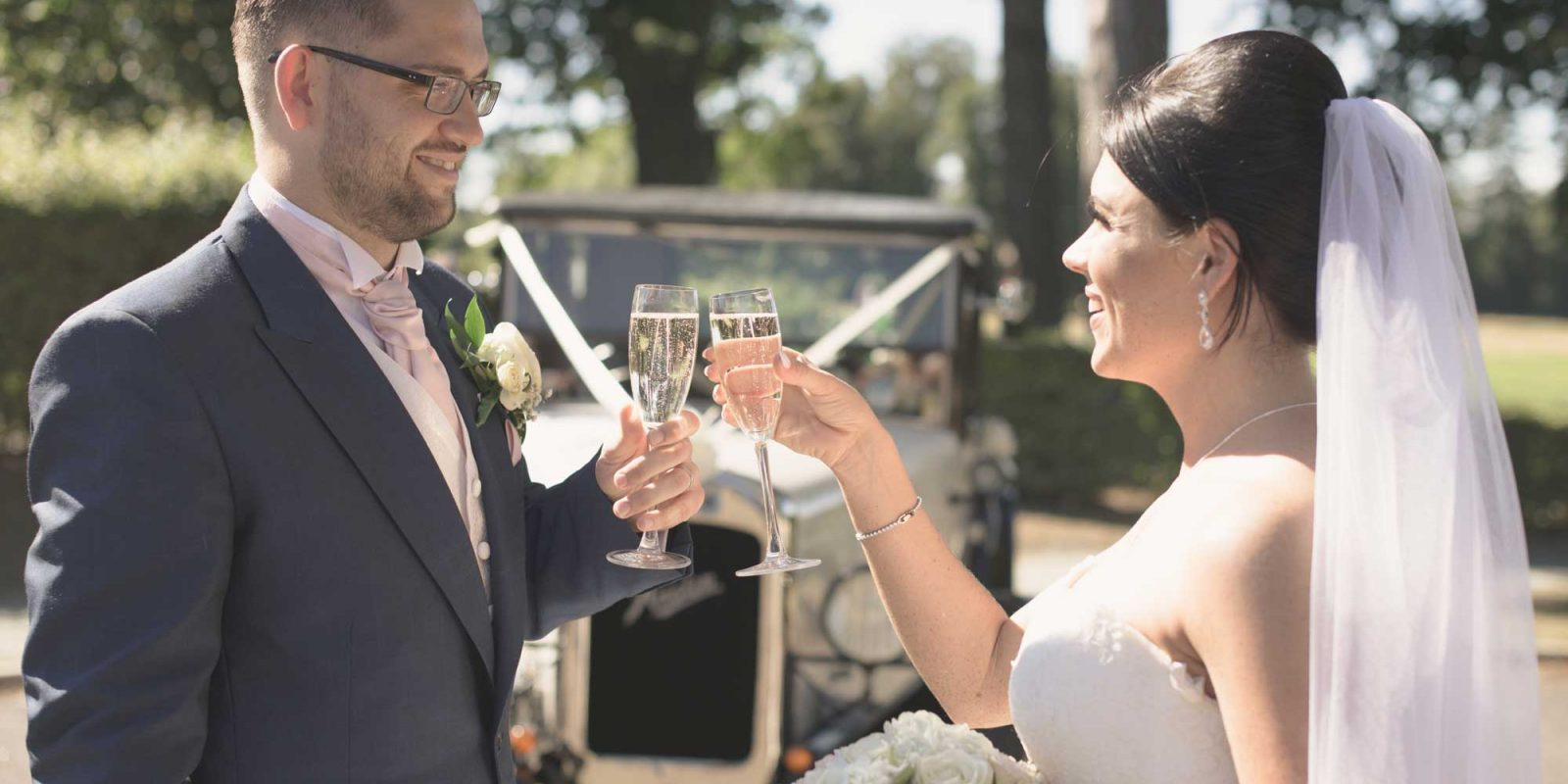 Aldwickbury Park Wedding Toast