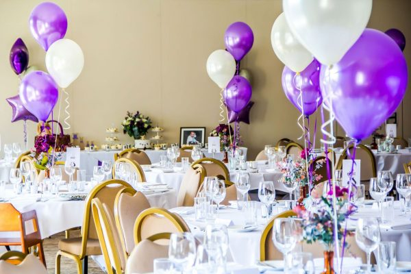 Aldwickbury Park Party Room with Balloons