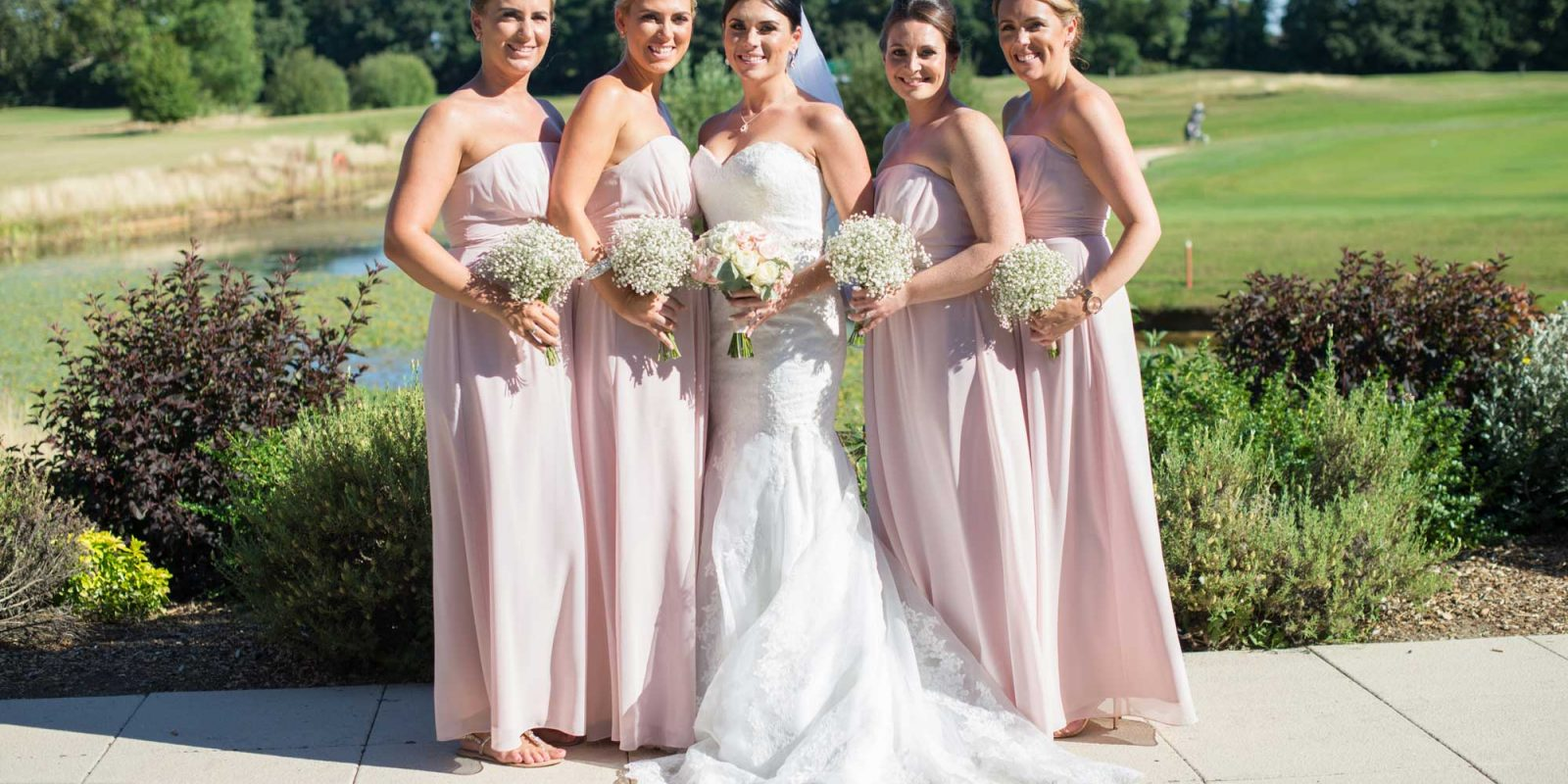 Aldwickbury Park Wedding Bridesmaids