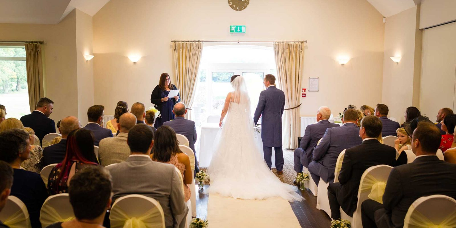 Aldwickbury Park Wedding Ceremony