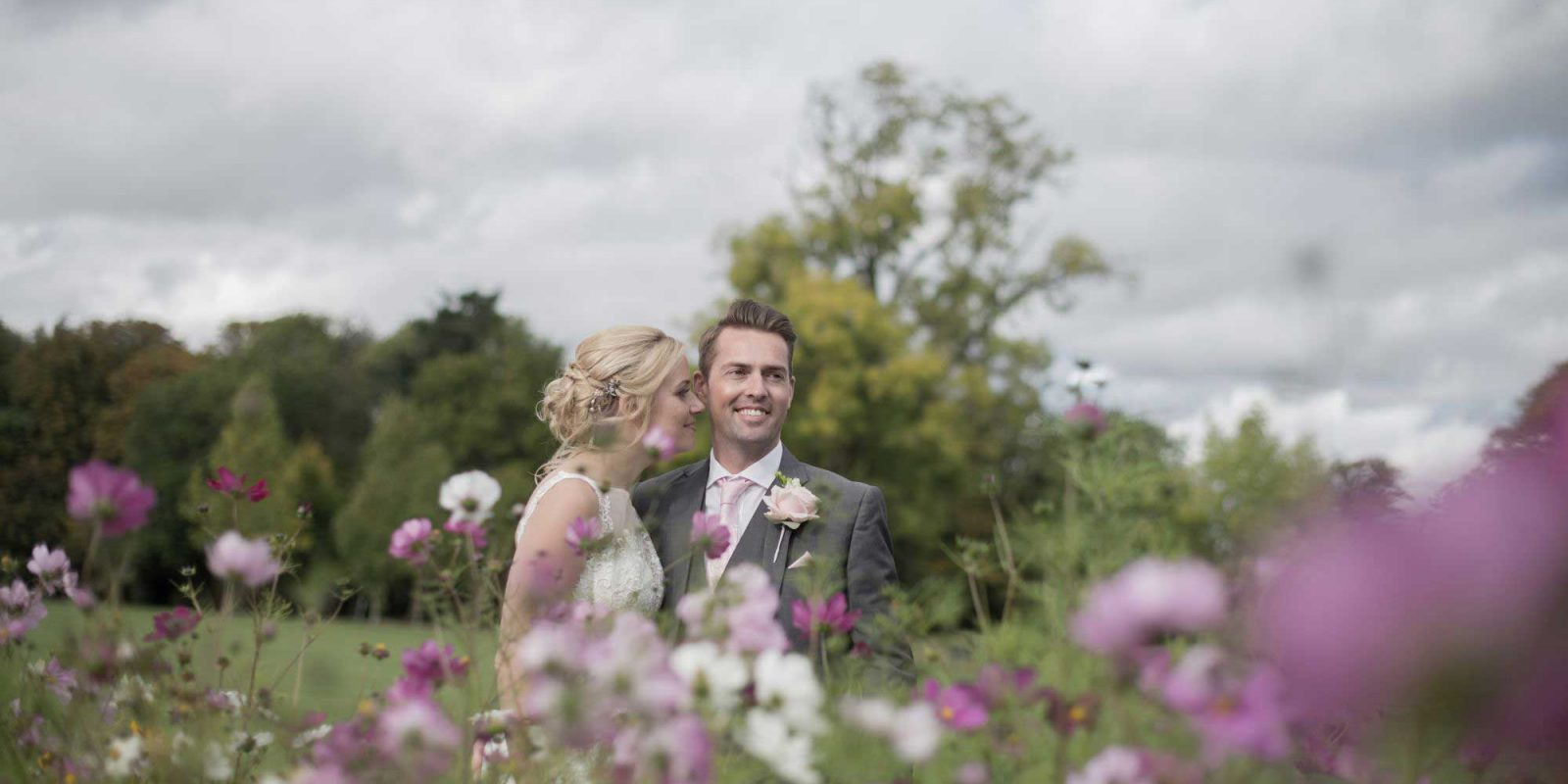 Aldwickbury Park Wedding Couple