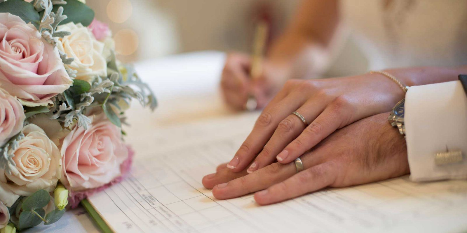 Aldwickbury Park Wedding Signing Register